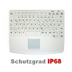 AK-4450-GFUVS-W Touchpad Tastatur wireless