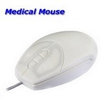 Medical Mouse weiss klein