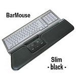 BarMouse SLIM - black/schwarz