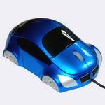Mouse Car-Design SN-133 blau