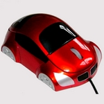 Mouse Car-Design SN-133 rot
