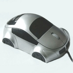 Mouse Car-Design SN-133 silber