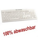 CLEAN-DESK Wasserdichte Tastatur USB