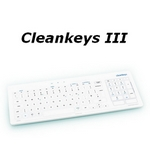 Cleankeys III GLAS-Tastatur wireless