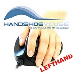 Handshoemouse LC Left wireless - Small schwarz