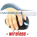 Handshoemouse wireless - Medium - schwarz