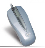 A4-Tech MOP-28 Optical Mouse silber