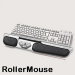 RollerMouse silber