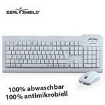 Seal Shield Maus+Tastatur SET weiss, USB, IP68