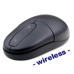 SILVER-SURF Wasserdichte PC-Maus wireless