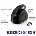 Ergonomicc Comfi Mouse 2,4 Ghz wireless